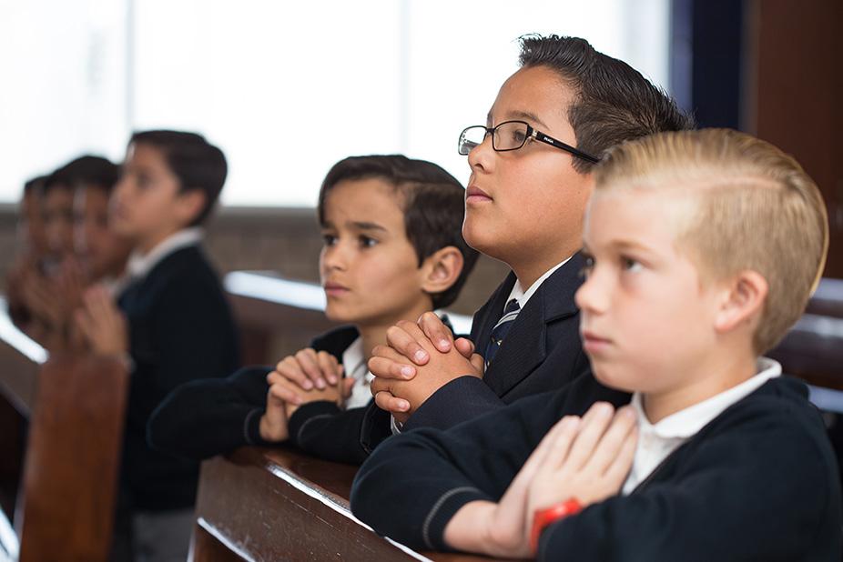 Formación espiritual y en valores del Instituto Antes Puebla