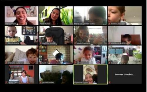 ¿Cómo se siguen desarrollando las habilidades sociales en una oferta en línea?